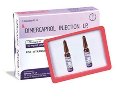 Dimercaprol - Thuốc giải độc kim loại nặng