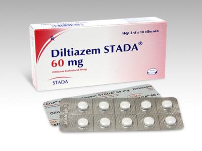 Diltiazem - Thuốc chống đau thắt ngực