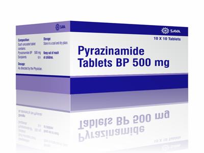 Pyrazinamid - Thuốc chống lao