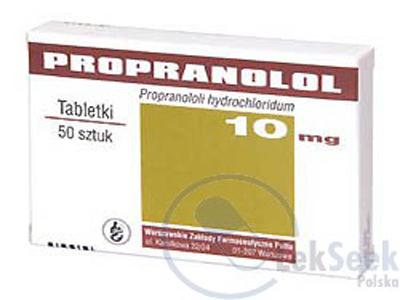 Propranolol - Thuốc chống tăng huyết áp