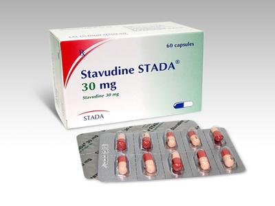 Stavudin - Thuốc ức chế enzym sao chép ngược nucleosid