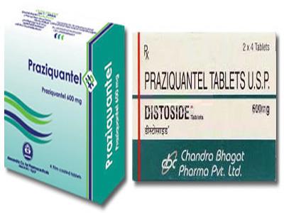Praziquantel - Thuốc trị sán máng (Schistosomia)