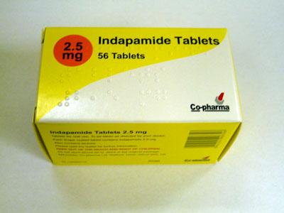 Indapamid - Thuốc chống tăng huyết áp