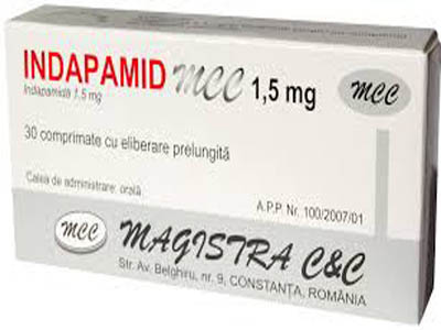 Indapamid - Thuốc lợi tiểu thiazid