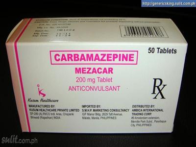 Carbamazepin - Thuốc dùng trong rối loạn cảm xúc lưỡng cực
