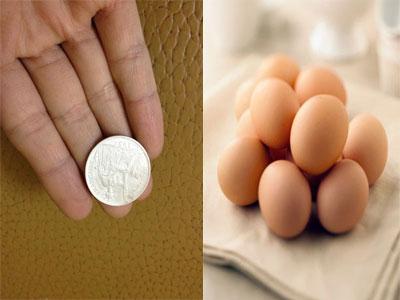 Phương pháp đánh gió giải cảm bằng trang sức bạc và trứng gà
