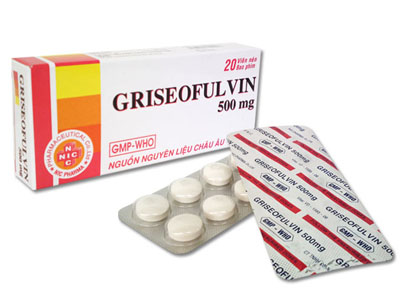 griseofulvin - thuốc chống nấm - y học cộng Đồng, Skeleton