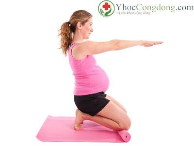Tập thể dục trong khi mang thai
