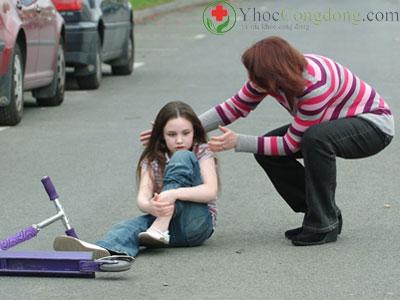 Gãy xương ở trẻ em