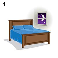 Sử dụng thuốc đặt âm đạo trước khi đi ngủ