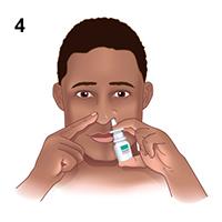 Sử dụng thuốc bơm xịt mũi đúng cách