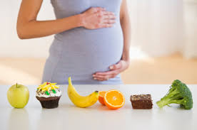 Hình ảnh minh họa mang thai và ăn uống