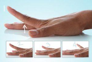 Luyện tập ngón tay sau khi bị thương