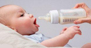 những lưu ý khi nuôi trẻ bằng sữa công thức
