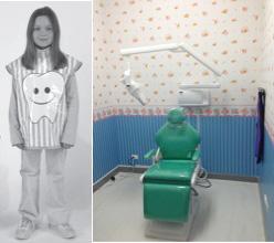 áo chì và phòng chụp răng trẻ em