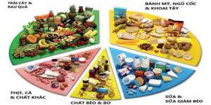 năm nhóm thực phẩm chính