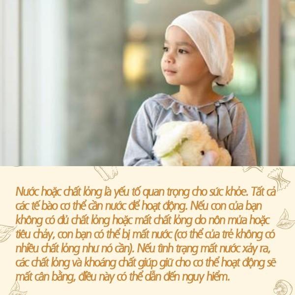 Dưỡng chất cần thiết cho trẻ em ung thư