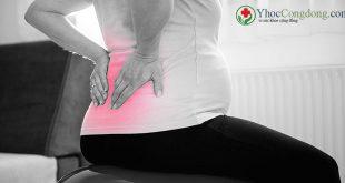 Giảm đau lưng trong khi mang thai