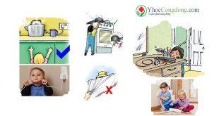 Phòng tránh bỏng, điện giật và hỏa hoạn