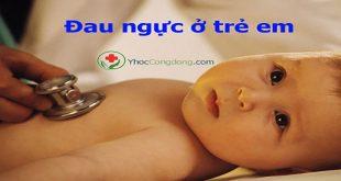 Đau ngực ở trẻ em