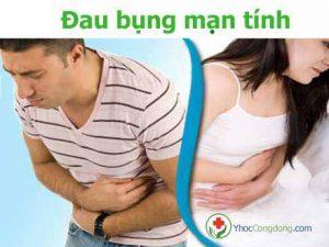 Triệu chứng đau bụng mạn tính
