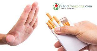Cai thuốc lá: Có ích lợi gì cho bạn và người thân?