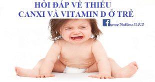 Hiểu đúng về thiếu canxi và vitamin D