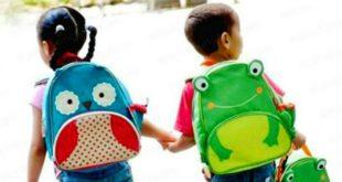 An toàn khi mang ba lô cho trẻ