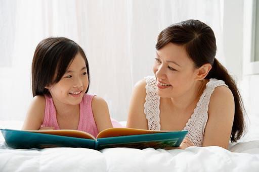 Đọc sách trước khi ngủ