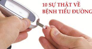 mười sự thật về bệnh tiểu đường