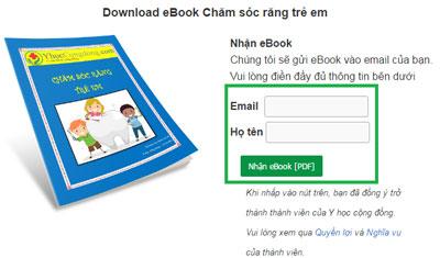 Nhập email để nhận ebook mới xuất bản