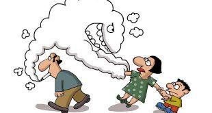 đừng để con lãnh hậu quả vì thói quen hút thuốc của bạn