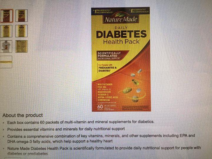daily Diabetes Health Pack 3