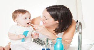 Nên đánh răng cho bé vào thời điểm nào trong ngày và có giới hạn số lần không?