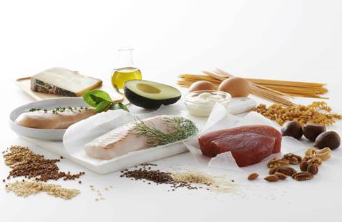 thịt, cá, đậu nành