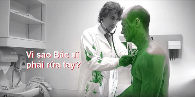 Vì sao bác sĩ và nhân viên y tế phải rửa tay