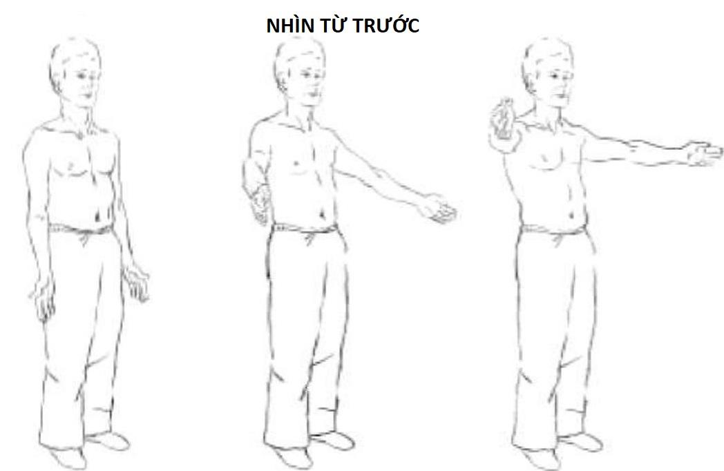bài tập 8 vươn tay