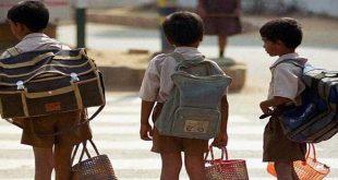 Cặp sách nặng có góp phần làm trẻ đau lưng không?