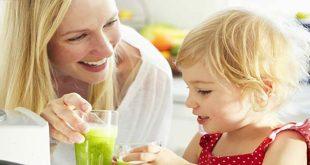 Chăm trẻ ăn mùa nắng nóng