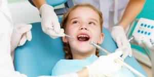 Gãy răng ở trẻ