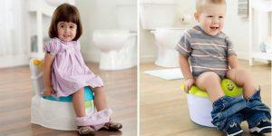 Rèn tự đi vệ sinh cho trẻ
