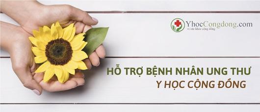 Logo group facebook Hỗ trợ bệnh nhân ung thư