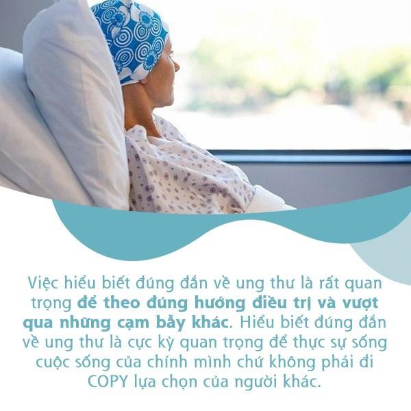 Những bài học về chăm sóc điều trị bệnh ung thư