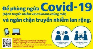 Hướng dẫn phòng ngừa và ngăn chặn truyền nhiễm COVID-19 tại Nhật Bản