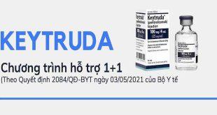 Chương trình hỗ trợ thuốc Keytruda