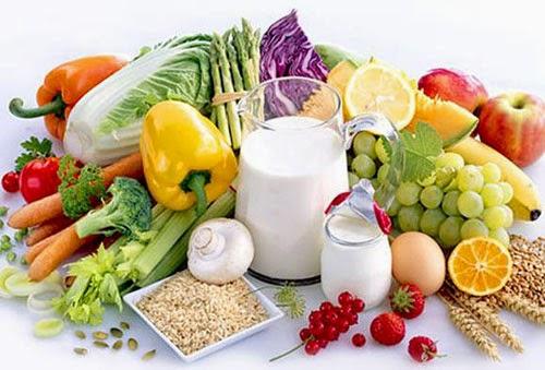 Trái cây, ngũ cốc và sữa là những thực phẩm tốt cho sức khỏe